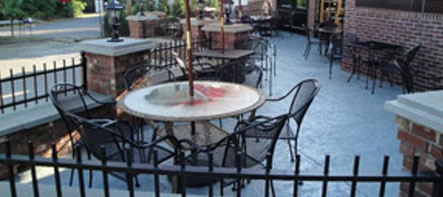 Tunxis Grill Patio